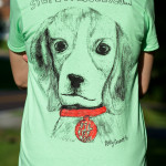 Mint Green Ladies' Fit Dog