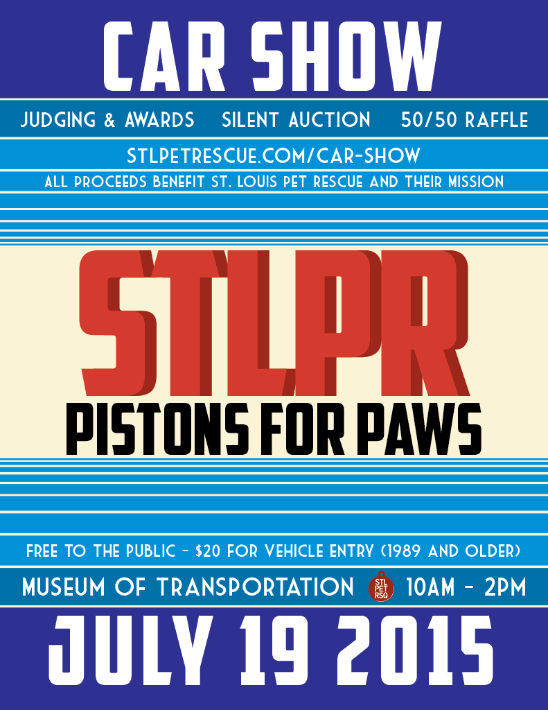 2015 STLPR Car Show Flyer